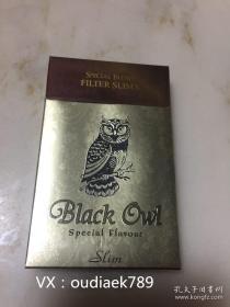 越南 猫头鹰 小雪茄 烟盒烟标收藏