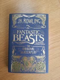 一印神奇动物在哪里 美版 Fantastic Beasts and where to Find Them The Original Screenplay