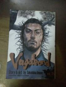VAGABAD  STORY ART BY TAKEHIKO INOUE 25  英文漫画