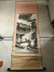 张胜书画,山村小学一新民小学二00二年五月。