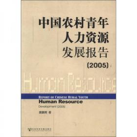 中国农村青年人力资源发展报告2005