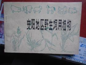 《安阳地区野生饲用植物》横32开本图文本 八十年代绝版地方图书