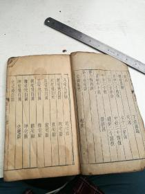 阳宅集成卷二,带古人硃砂圈点,明或清早期木刻大本
