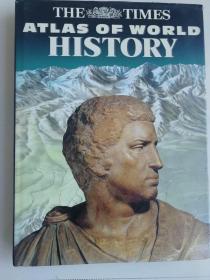 The Times Atlas of World History  英文进口原版精装