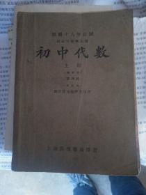 初中代数,民国二十年(1931年)九月订正五版
