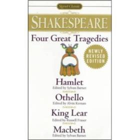 Four Great Tragedies:Hamlet, Othello, King Lear, Macbeth