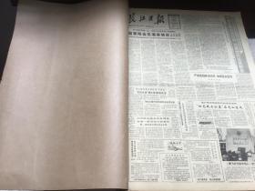 长江日报   1987   4     原报合订本