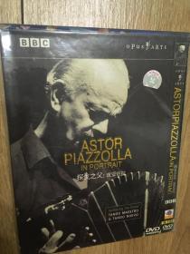 实拍 音乐 DVD Astor  Piazolla In Portrait