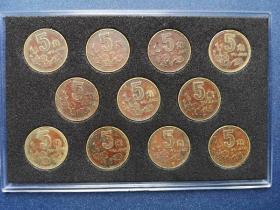 梅花包浆币