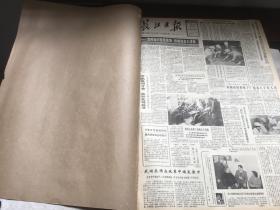 长江日报  1987   2    原报合订本