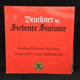 古典音乐黑胶唱片:安东·布鲁克纳,A大调第七交响曲 Anton Bruckner Siebente Sinfonie in A-Dur 七八十年出版 大33转