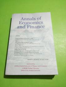 Annals ofEconomics  and FinanceVolume 19 , Number 2 . November 2018 ( ISSN 1529-7373 )
