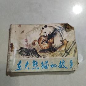 连环画 在大熊猫的故乡(品相不好到74页止)