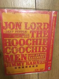 实拍 音乐 DVD Jon Lord & The Hoochie Coochie Men  Live at the Basement
