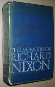 英文原版书 The Memoirs of Richard Nixon (英语) 精装 –1978 Richard Nixon (Author)