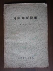 内经知要浅解(1957年)