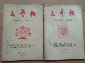 文艺报1960年(13-16期)