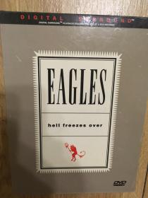 实拍 音乐DVD 老鹰乐队 Eagles Hell Freezes Over