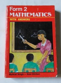 Form 2  MATHEMATICS   WITH  ANSWERS