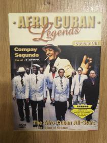 实拍 音乐 DVD Compay Segundo Afro Cuban Legends