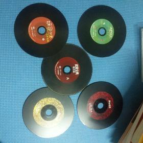 黑胶唱片5张打包