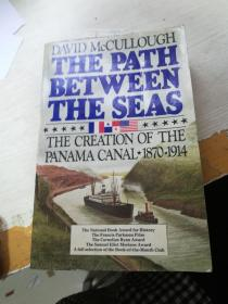巴拿马运河史 沟通大洋之河 巴拿马运河的诞生 The Path Between the Seas 壮丽的纪实史诗 获美国国家图书奖(书脊开裂)