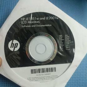 hp 惠普软件光盘一张