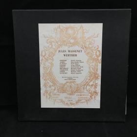 古典音乐黑胶唱片:一盒三张全,法国作曲家,作曲课教授马斯涅(Jules Massenet)作品集   七八十年出版 大33转