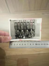 1974大苏吉中学篮球队合影