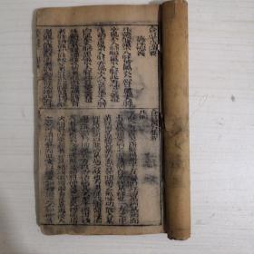 合订本草备要,合订医方集解【卷一,卷二,木板印刷】