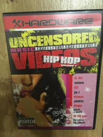实拍 美国原版 音乐DVD Uncensored Music Videos Hip Hop Vol. 1