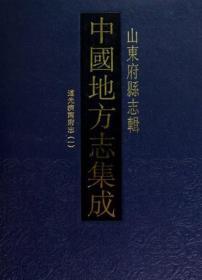 中国地方志集成·山东府县志辑(新版 16开精装 全九十五册 原箱装)