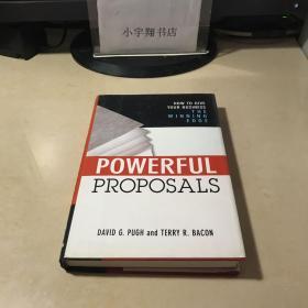 Powerful Proposals   原版英文 精装