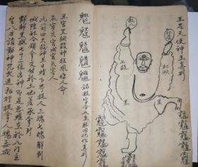 洞王符咒书秘传(复印件)