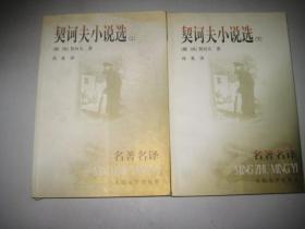 契诃夫小说选(上下) 名著名译