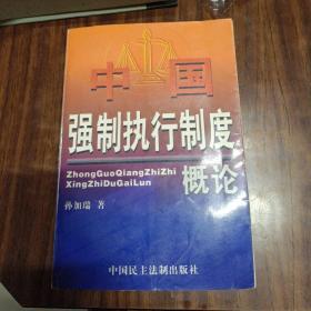 中国强制执行制度概论