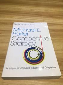 Competitive Strategy竞争战略 英文原版