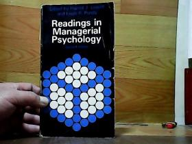 Readings in Managerial Psychology(管理心理学读物.. )