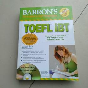 Barrons TOEFL iBT with CD-ROM and 2 Audio CDs