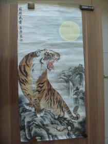 中国工艺美术大师张广庆皓月长啸作品