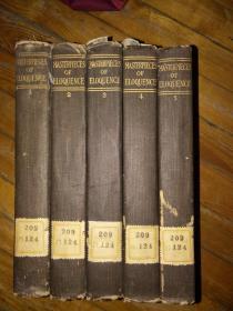 英文 世界文学全集1--5册