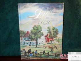 奥尔科特著《小男子汉》Junior Library彩色与黑白插图版,1947年出版 精装24开