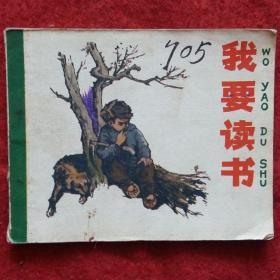 连环画《我要读书》根据高玉宝小说 王绪阳 贲庆余绘60开小人书