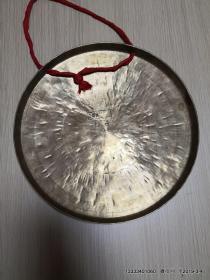 中国武汉中虎音老铜锣 直径32厘米