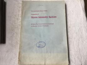 Compendium of Stress Intensity Factors 应力强度因子概要(英文,D.P.Rooke 著)