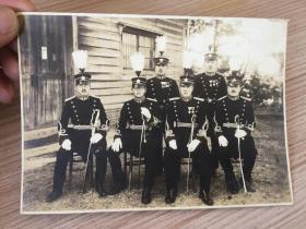 明治時期日軍軍官合影照片一張