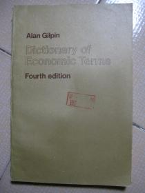 Alan Gilpin Dictionary of Economic Terms Fourth edition