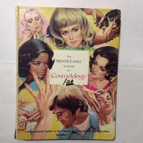 the prentice hall textbook of cosmetology 普伦蒂斯霍尔美容教材  外文 有水渍