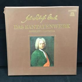 古典音乐黑胶唱片:一盒两张全《巴赫作品 带一本乐谱》 Bach: Das Kantatenwerk,kantate 56