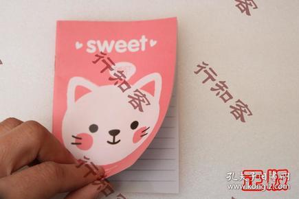 --小記事本兒sweet cat小貓 滿50元包郵